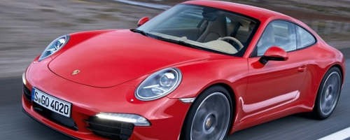 porsche 911 carrera wint red dot award
