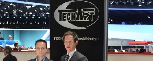 Porsche-blog en TechArt ontmoeten elkaar op de AutoSalon van Genève.