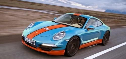 Porsche 911 Gulf edition
